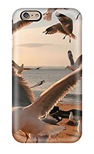 PKCQGmk314rtOvm Anti-scratch Case Cover RandyHPayton Protective Nature Animal Bird Reflection Green National Geographic Case For Iphone 6