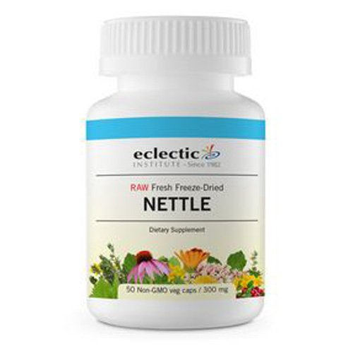 Eclectic Nettles Leaf Freeze Dried Vegetables, Blue, 50 Count (Leaf Nettle Dried Freeze)