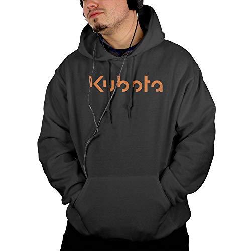 Givmegjvnd Men Kubota Tractor Orange Logo Sweatshirt