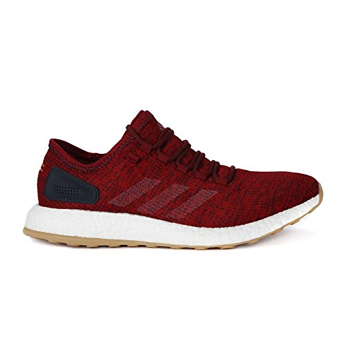 Adidas Pureboost, Zapatos para Correr para Hombre, Rojo (Buruni/Lino/Maosno), 44 EU