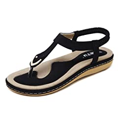 This comfy va va voom SUMMER GOLD RING SIMPLE THONG SANDALS, handmade of selected manmade leather and gold ring with soft comfy insole lining and gum rubber sole, has glamour to help you handle most of occasions. The BEST choice for your vaca...