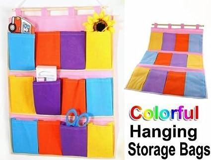 Hanging Wall Storage Pockets