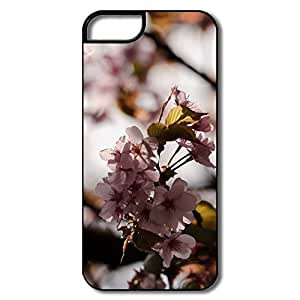 IPhone 5 5S Cases, Cherry Blossom Twig White/black Cases For IPhone 5S