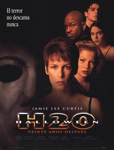 Halloween: H2O Movie Poster (27 x 40 Inches - 69cm x 102cm) (1998) Spanish -(Jamie Lee Curtis)(Adam Arkin)(Josh Hartnett)(Michelle Williams)(Adam Hann-Byrd)(Jodi Lyn