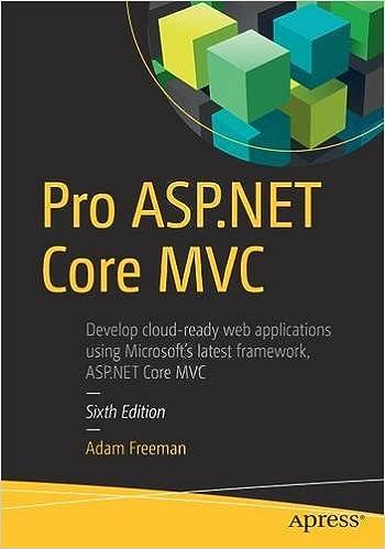 Pro ASP NET Core ADAM FREEMAN