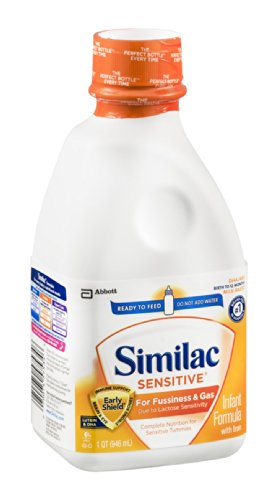 Similac Sensitive Infant Formula with Iron Milk-Based/Ready