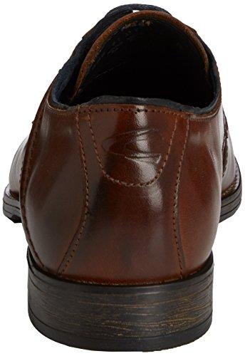 camel active Como 11 - zapatos con cordones de cuero hombre marrón - marrón (Cognac)