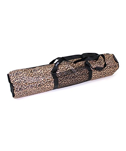 Zenzation Hot Yoga Mat Bag, Leopard