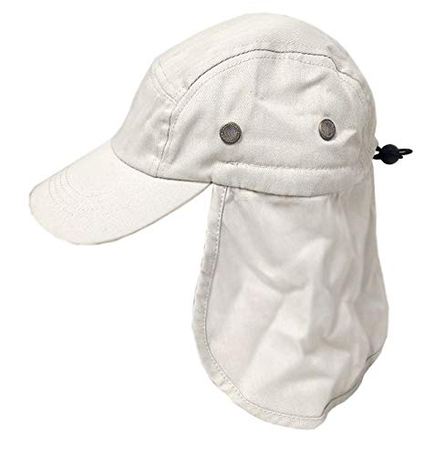 Flap Hats Stone - Q Headwear Beige Stone Foreign Legion Fishing Sun Flap Hat