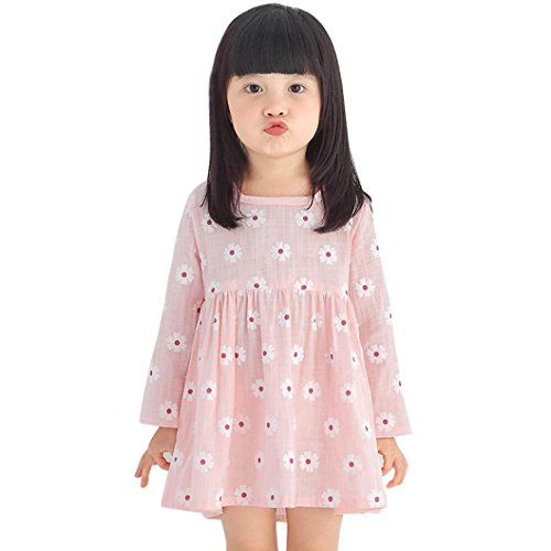 Toddler Girls Long Sleeved Dress - 9