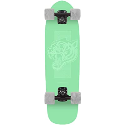 Landyachtz Dinghy Green Tiger Mini Cruiser Longboard Skateboard 2020 : Sports & Outdoors