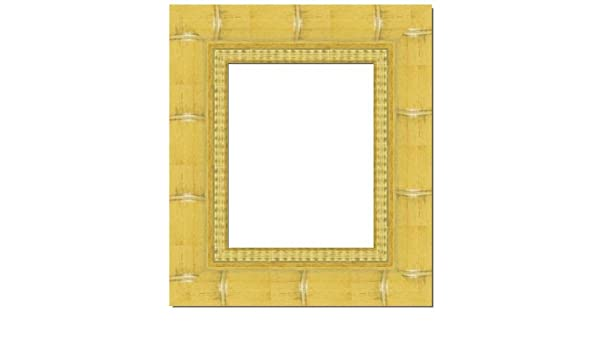 Amazoncom 30x40 30 X 40 Natural Bamboo Solid Wood Frame With Uv