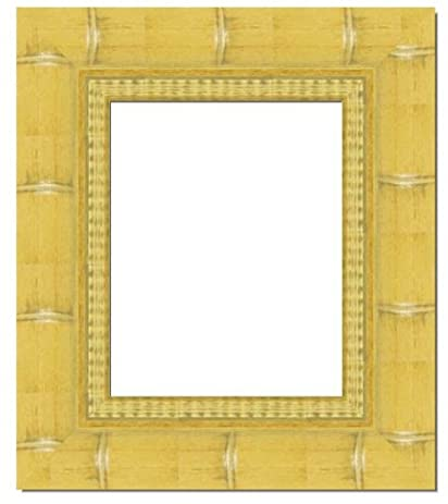 Amazon.com - 22x28 - 22 x 28 Natural Bamboo Solid Wood Frame with UV ...