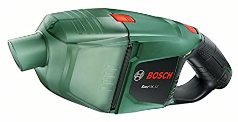 Bosch Aspirador manual a batería EasyVac 12 (12 V, Power for all, Cargador, Caja de cartón, 2,5 Ah, 3 boquillas, 2 prolongaciones de tubo, Equipo ...