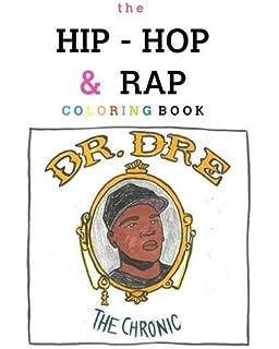 the hip hop rap coloring book - Rapper Coloring Book