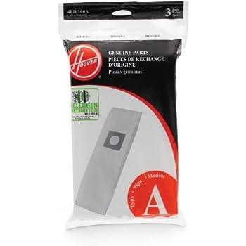 Hoover Type A Allergen Bag - 3 pack, 4010100A