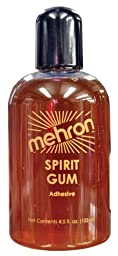 SPIRIT GUM MEHRON 4 1/2 OZ