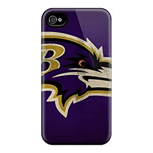 Best Cell-phone Hard Covers For Iphone 6plus With Custom Trendy Baltimore Ravens Series LauraFuchs