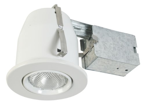 Eurofase Lighting Trim - Eurofase TH-P03-02 4-Inch PAR20 Gimbal Housing/Trim Kit, White