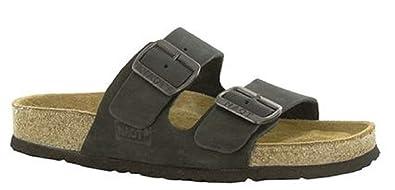 8b6abc33b0f0 NAOT Footwear Women s Santa Barbara Black Nubuck Sandal 35 ...