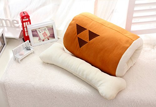 [Smoon Cosplay Monster Hunter Barbecue and Bone Plush Toy Pillow Anime Products] (Monster Hunter Cosplay Costume)