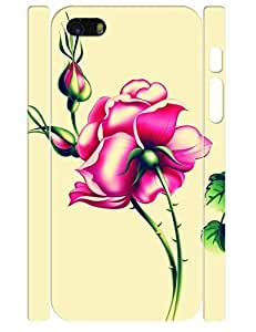 3D Print Unique Rose Pattern High Impact Phone Hard Case for Iphone 5 5S by icecream design
