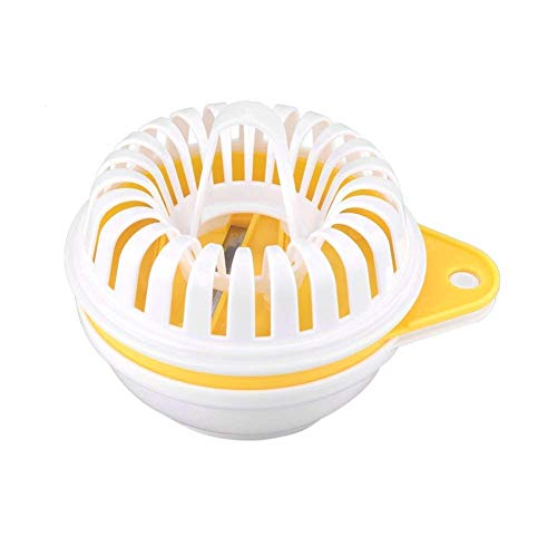 LETOOR Oven Baking Tray DIY Snack Food Kitchen Gadgets, Rack, Microwave Potato Chips Maker, 5.3 in, Yellow