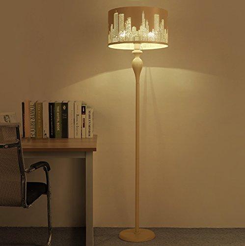 Beleuchtung Moderne vertikale Eisen-Lampe Wohnzimmer Stehlampe Schlafzimmer Höhle