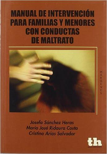 Manual de intervención para familias y menores con conductas