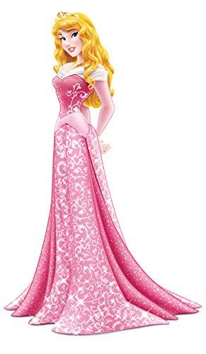 ALMACENESADAN 0883, Pack 4 Siluetas 30 cms Disney Princesas, para Decoracion de Fiestas y cumpleaños