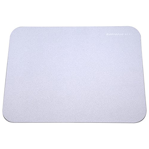 rantopad-ats-ultra-thin-2mm-aluminium-surface-core-gaming-mouse-pad-frosted-matte-11x8x008in-silver