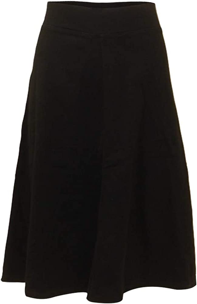 Hard Tail Forever Flat Waist Knee Skirt Cotton - Style B-145
