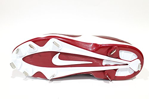 Air Max Mvp Nike Élite Masculina Grapas Mediados De Béisbol De Metal Blanco / Negro / Marrón Outlet Baratoest 2018 Nuevo en línea Apn03RPA