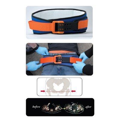SAM Pelvic Sling II - Standard Size 32''-50'' - Orange & Blue