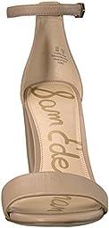 Sam Edelman Women\'s Yaro Dress Sandal, Classic Nude Leather, 7.5 M US