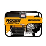 Winco WC6000HE Industrial Portable Generator, 6,000W Maximum, 297...