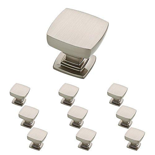 Franklin Brass P29542K-SN-B Satin Nickel 1-1/8-Inch Webber Kitchen Cabinet Hardware Knob, 10 pack (Renewed)