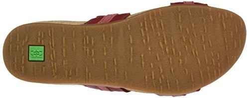 Sandalo tibet Bout Naturalista Nf49 Femme El Rouge Ouvert Sandales wFCpx8qnW