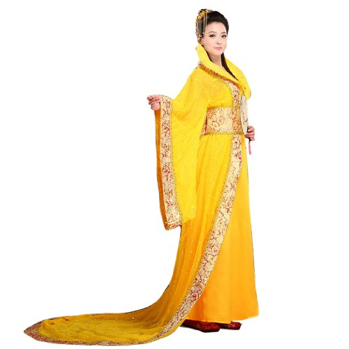 Bysun women's costume Han Chinese clothing YellowFS