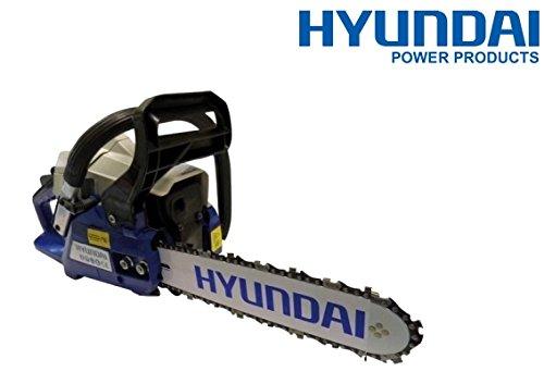 Astkettensäge 52cc Messer 45cm (Vergaser Walbro) Hyundai–ld852