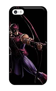 2263595K47021465 New Arrival Iphone 5/5s Case Hawkeye Case Cover