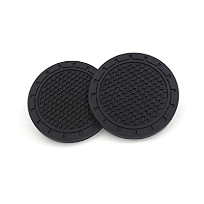 SHENGYAWAUTO Car Interior Accessories Cup Holder,Anti Slip Cup Mat Insert for All Brands of Cars 2 Packs,2.75 inch: Automotive