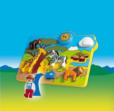 playmobil puzzle 123