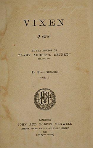 book cover of Vixen