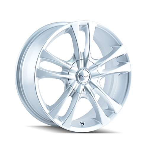 Sacchi S2 16 Hypersilver Wheel / Rim 5x4.25 & 5x4.5 with a 40mm Offset and a 72.62 Hub Bore. Partnumber 220-6714S