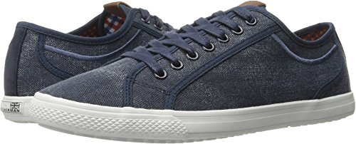 Ben Sherman Men's Chandler Lo Fashion Sneaker, Navy, 12 M - Fashion Chandler