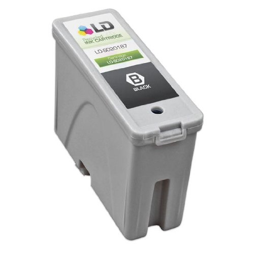 LD Remanufactured Replacement for Epson S020187 (S187093) Black Ink Cartridge