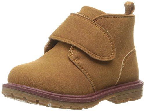 OshKosh B'Gosh Boys' Gunther Pull-On Boot (Toddler/Little Kid), Brown, 8 M US Toddler