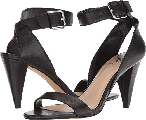 Vince Camuto Women's Caitriona Heeled Sandal, Black, 7 M US -