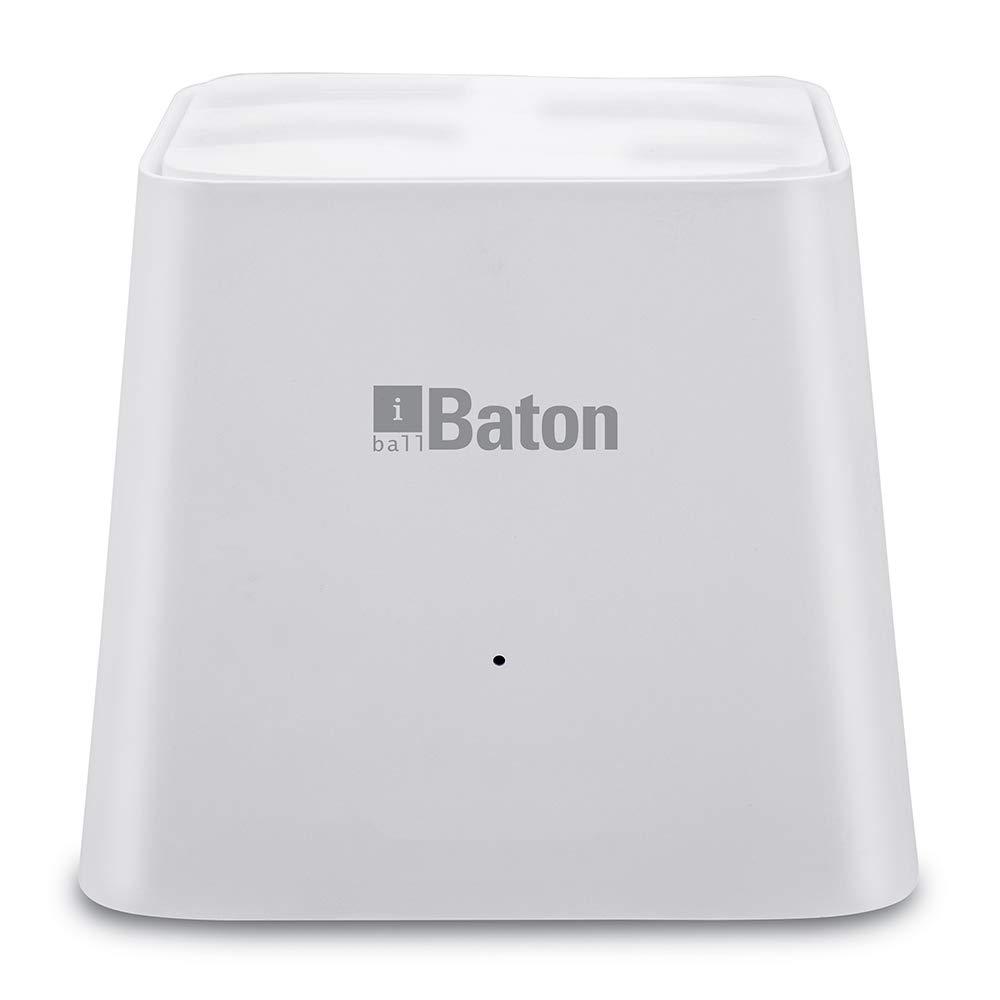 [Apply coupon] iBall WebWork Gigabit 1200M Smart AC Whole Home Wi-Fi Mesh Router iB-WRD12GM (White)